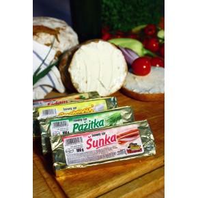 Tavený sýr - šunkový 100g
